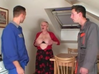 Big Tits Mom Natural Old And Young  Stripper Threesome