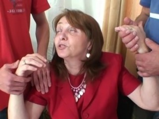 Mom Old And Young Teacher Threesome