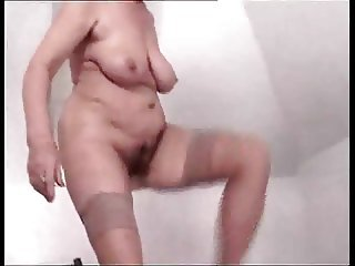 Big Tits Hairy Natural  Stockings