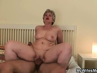 Chubby Hardcore Natural Riding Shaved