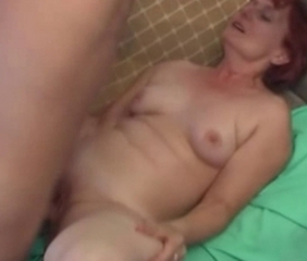 Redhead Shaved Small Tits