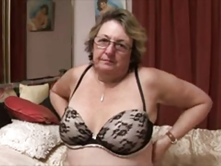 Amateur Chubby Glasses Lingerie