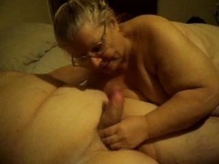 Amateur  Blowjob Glasses Homemade Older Wife