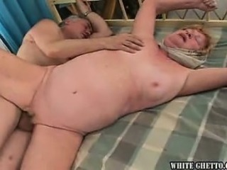 Chubby Older Shaved Wife