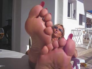 European Feet German Mature