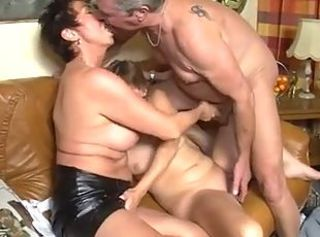 European German Threesome Wife
