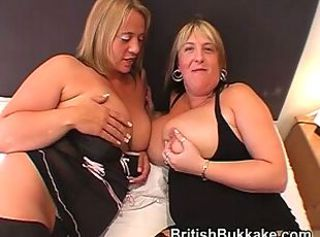 Big Tits British European Mature Wife
