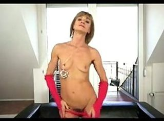 Skinny Small Tits Stripper