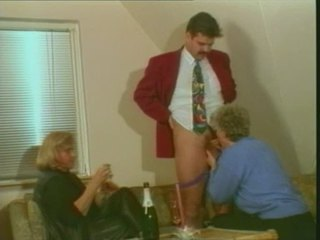 Blowjob Clothed Drunk Old And Young Threesome Vintage