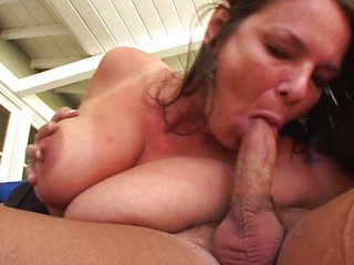 Big Tits Blowjob Mature Mom Natural