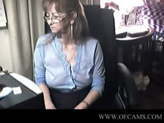 Glasses Nipples Teacher Webcam