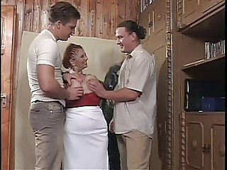 Big Tits Family Mom Old And Young Threesome