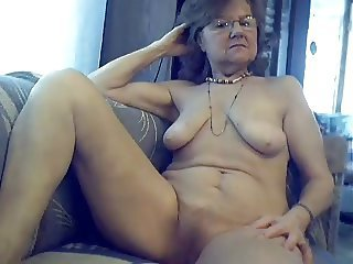 Glasses Pussy  Solo Webcam
