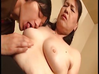 Asian Japanese Licking Mom Nipples Old And Young