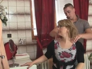 Bathroom Massage Mom Old And Young