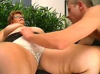 Big Tits European Glasses Lingerie Mom Old And Young Panty