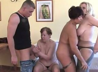 Groupsex Handjob Old And Young
