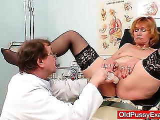 Dildo Doctor Older Stockings Toy