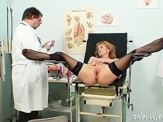 Doctor Older Pussy Stockings