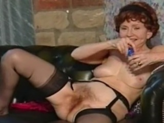 British European Hairy Stockings Vintage