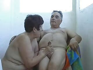 Amateur  Handjob Homemade Older Small Cock Wife