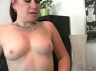 Nipples Office Redhead Secretary Small Tits