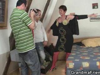 Casting Family Mom Old And Young Stripper Threesome