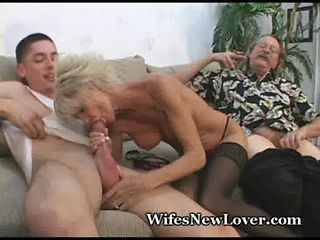 Big Cock Blowjob Cuckold Mature Old And Young Stockings Wife