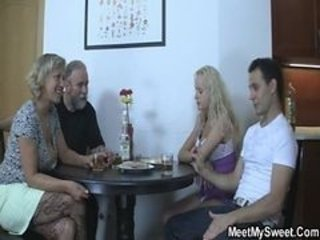 Drunk Family Groupsex Old And Young