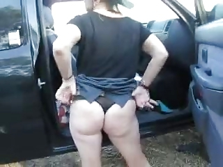 Amateur Ass Car Mature Outdoor Panty