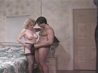 Big Tits Lingerie Pornstar Stockings Vintage