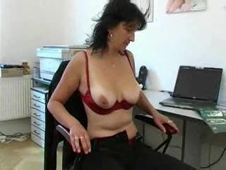Amateur Masturbating Mature Natural Nipples Office  Secretary Stripper