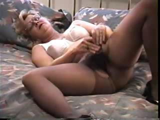 Amateur Glasses Homemade Lingerie Masturbating Pantyhose Solo