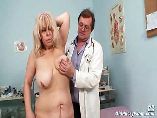 Big Tits Chubby Doctor Natural Older