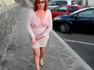 Amateur Big Tits Chubby Lingerie Natural Outdoor Public