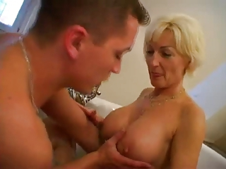 Bathroom Big Tits Mature Mom Natural Old And Young