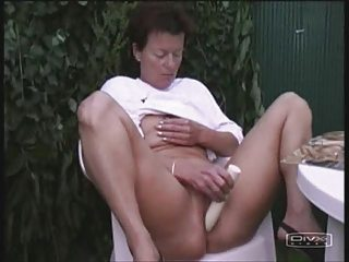Dildo Masturbating Outdoor Solo Toy