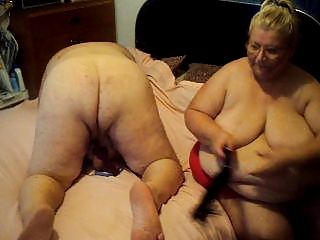 Older  Spanking Webcam Wife