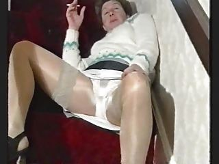 Panty Smoking Stockings Upskirt