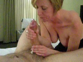 Amateur Big Cock Cumshot Handjob Homemade Mature  Wife
