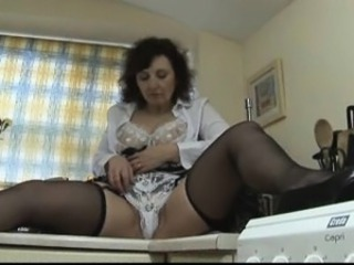 Lingerie Mature Mom Panty Stockings