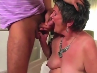 Blowjob Mom Nipples Old And Young