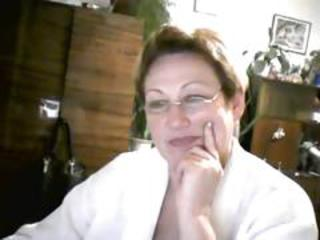 Glasses Mature Mom Webcam