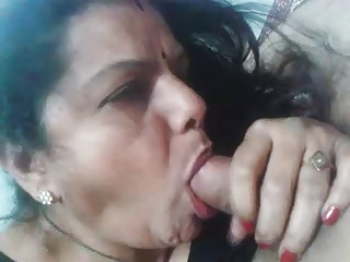 Amateur Blowjob Homemade Indian Mature Wife