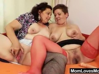 Chubby Lesbian Mature  Toy