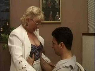 European Glasses Italian Mature Mom Old And Young Teacher