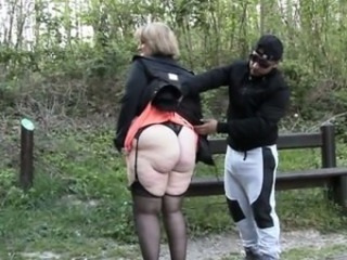 Amateur Ass European French Mature Mom Old And Young Outdoor Public