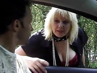 Big Tits Car European French Mature Mom Old And Young Outdoor