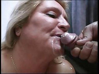 Cumshot Mature Mom Old And Young Swallow
