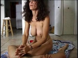 Amateur Big Tits Handjob Homemade Mature Natural  Wife